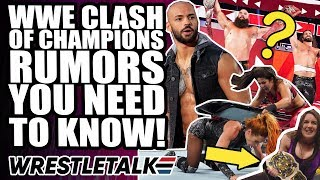 Every WWE Clash of Champions 2019 Rumor, Return & Surprise YOU NEED TO KNOW! | WrestleTalk'