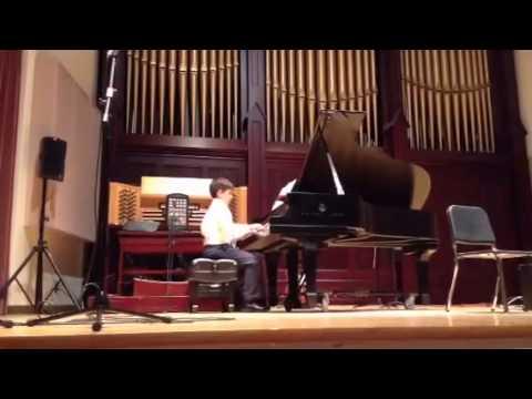 Ben Hogan - Allegro School of Music Recital - 05/31/2014