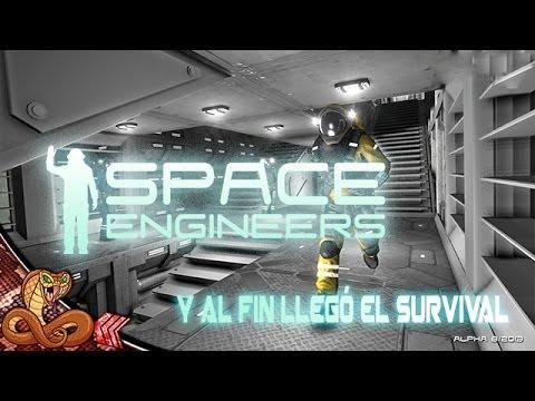 SPACE ENGINEERS | Y por fín llegó el survival - Steam Early Access