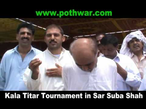 Kala Titar Tournament Sar Suba Shah 15 July 2012 video
