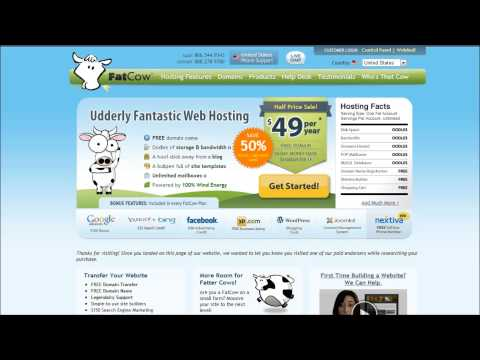 Fatcow Review - Features, Coupon, Free Domain, and More