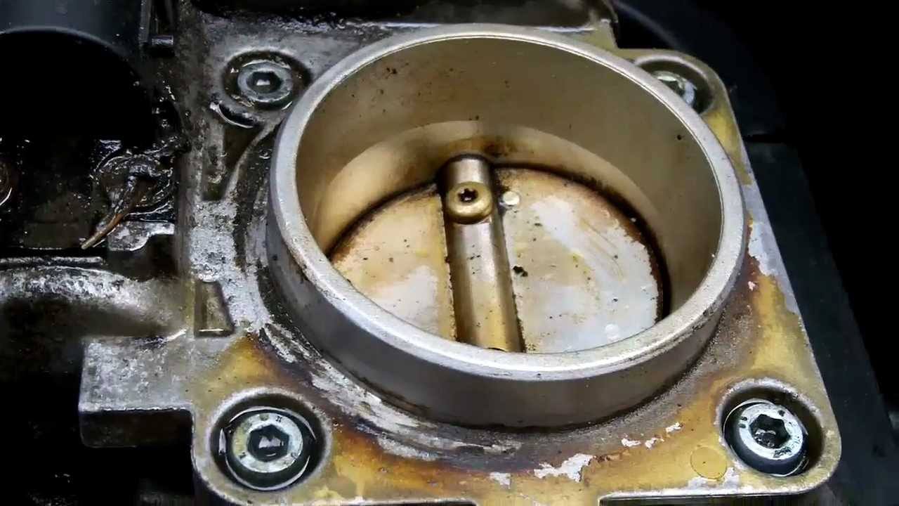 Mercedesw W202 C230 Throttle Body Removal And Cleaning