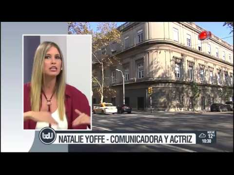 Buen día Uruguay - Natalie Yoffe 08 de Junio de 2017
