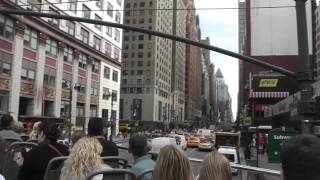 New York 6 - Gray Line Downtown Bus Tour (Part 1)