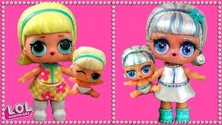 Трансформация куклы лол сюрприз и ее сестрички в салоне красоты. Мультик #ЛОЛ про ООАК LOL SURPRISE