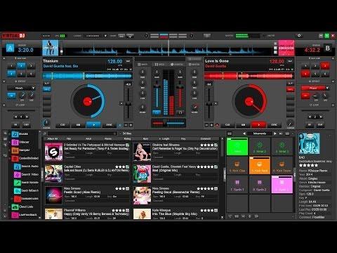 Como Utilizar y Mezclar en el virtual DJ Básico. VIRTUALDJ 8 PRO INFINITY