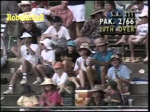 Pakistan vs South Africa 1992 WORLD CUP - MATCH HIGHLIGHTS