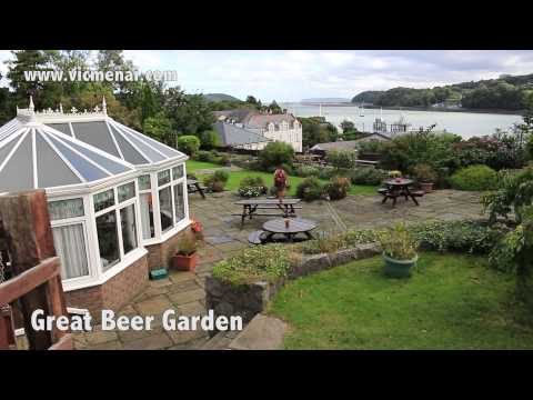 Victoria Hotel Menai Bridge motorbike biker friendly place to stay north wales angelsey