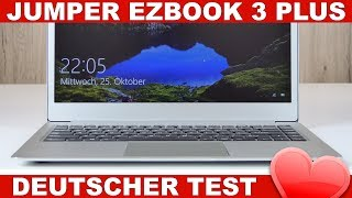 Jumper EZBook 3 Plus Test: Core M3 Preis-Leistungs-Kracher! (Deutsch)
