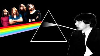 Why was Paul McCartney's contributions to Pink Floyd's Dark Side of the Moon album deleted?