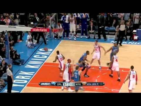 New York Knicks vs. Orlando Magic Overtime 3/28/2011 HD
