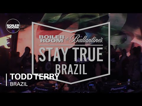 Todd Terry Boiler Room x Ballantine's Stay True Brazil DJ Set