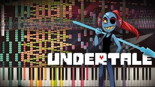 Synthesia: Undertale - NGAHHH!! & Spear of Justice | 70,000+ Notes | Black MIDI