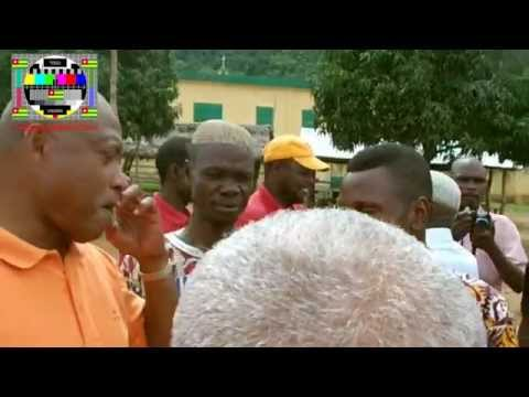 La population de Boulo a réclamé et obtenu un meeting improvisé avec Jean-Pierre Fabre