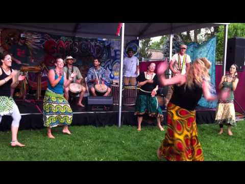 African Drumming & Dancing - Mountain Fair - Carbondale, CO 2012