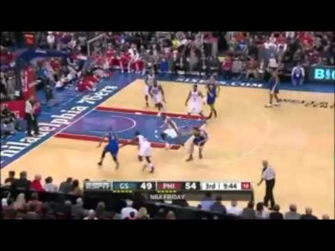76ers on fire vs the Warriors March 2 2012