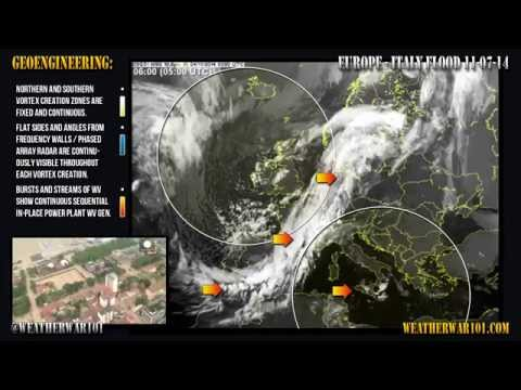 Geoengineering: Europe - Italy Flood 11-17-14