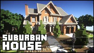 Minecraft - Beautiful Suburban House