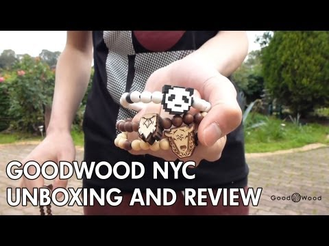 GoodWood NYC Unboxing - Spring Sale 2013