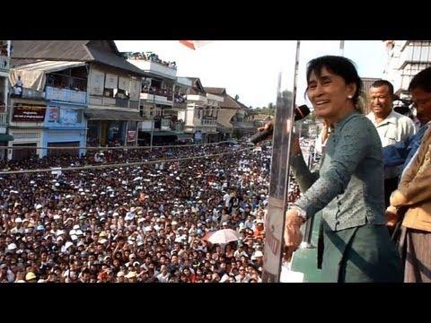 Suu Kyi inicia campanha eleitoral