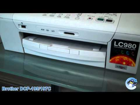 Brother DCP-197C/DCP-195C Printer Review
