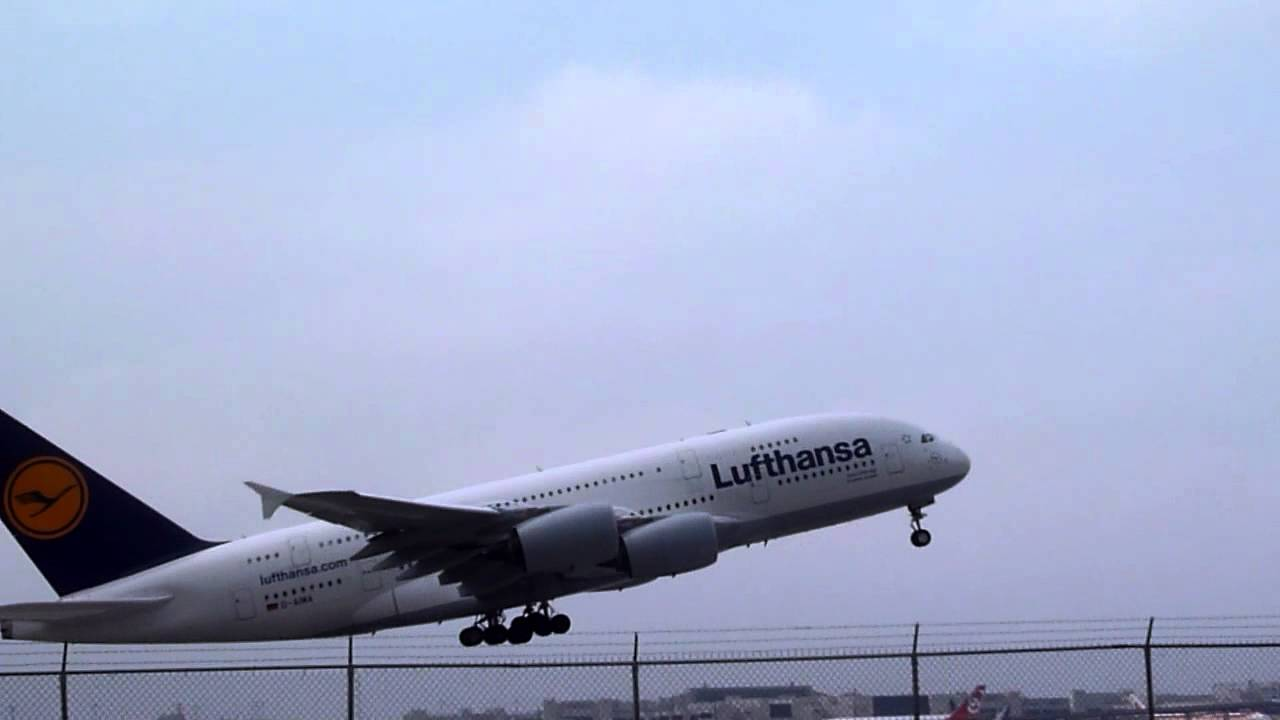 The World S Largest Passenger Plane Taking Off A380