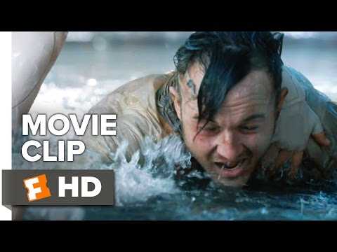 Ghost in the Shell Movie CLIP - Water Fight (2017) - Scarlett Johansson Movie