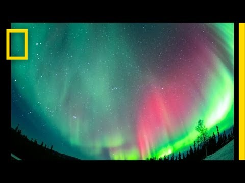 Brilliant Time-Lapse of Alaska's Northern Lights