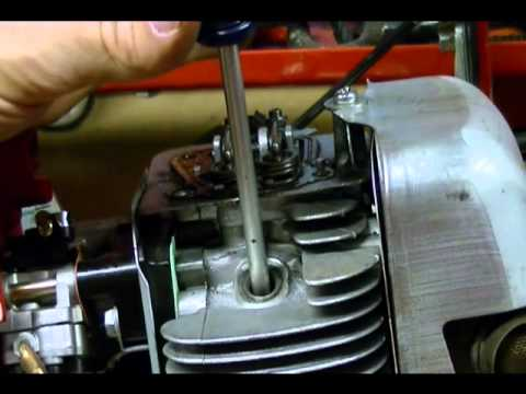 Small Engine Repair: Adjusting Valves or Valve Lash on a Honda GX31 Engine