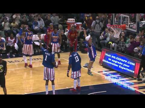 The Harlem Globetrotters and special guest Pat McAfee on MLK Day 2016