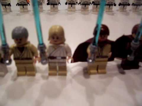 Lego Star Wars Characters Mini Figure Collection