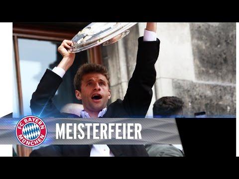FC Bayern Meisterfeier vom Rathausbalkon | ReLive