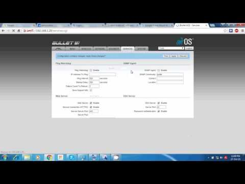 Ubnt bullet m2 access point configuration mode in urdu/hindi