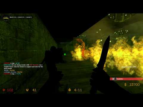ZOMBIE ESCAPE, COUNTER-STRIKE: SOURCE, MAP: ZE_slender_escape, LEVEL 4, STAGE Madness