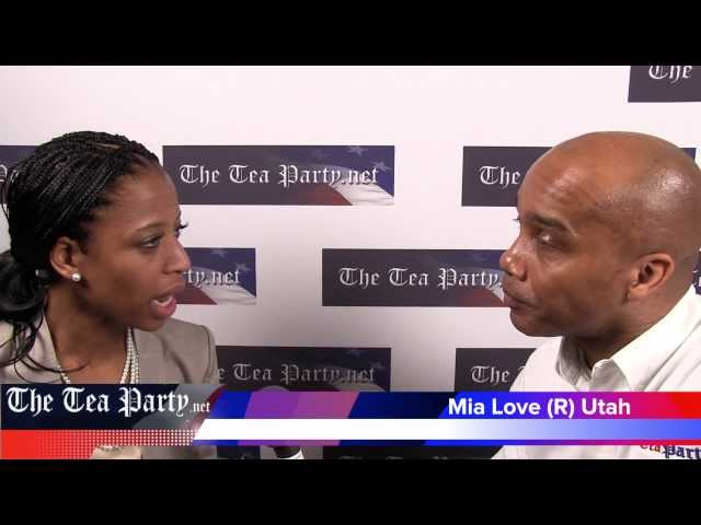Mia Love (R) Utah CPAC 2012 Interview with Kevin Jackson