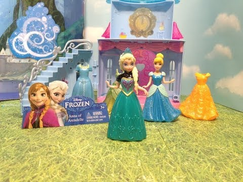 Disney Frozen Queen Elsa And Disney Princess Cinderella Friends Forever ...