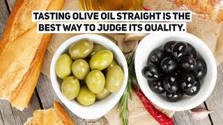 Fake and Real extra virgin olive oil facts and tips