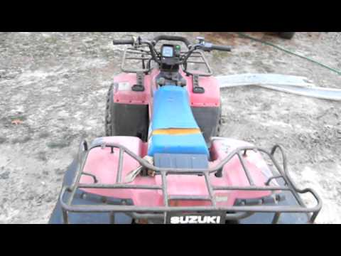 SUZUKI QUADRUNNER 250 4X4 1989