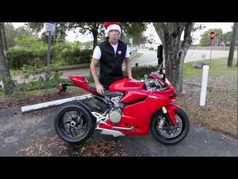 Ducati 1199 Panigale Delivery at Euro Cycles of Tampa Bay Florida
