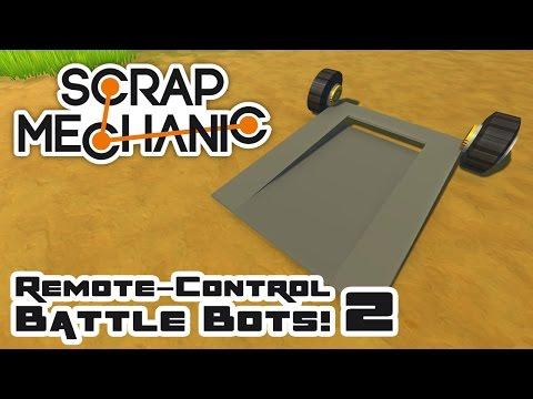 Scrap Bots 2: The Worst Possible Bot! - Let's Play Scrap Mechanic Multiplayer - Part 315