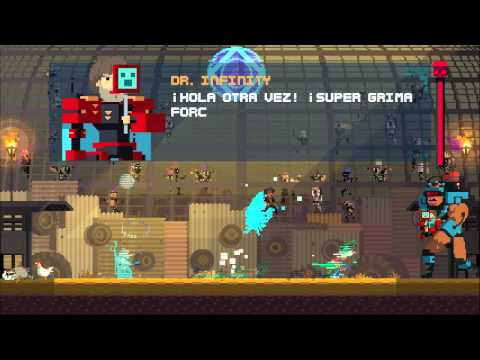 Super Time Force Ultra Ep11, Chúpate esa Dr.Infinity!