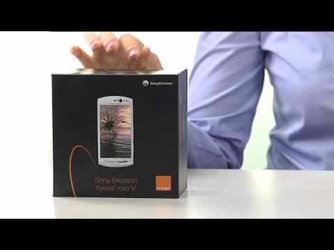 Sony Ericsson XPERIA neo V - Zawartość zestawu