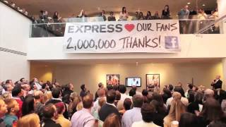 Express Loves Our 2 Million Fans!