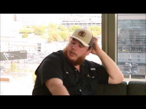 """Luke Combs Interview on Taking Country Music Scene By Storm With  """"Hurricane"""""""