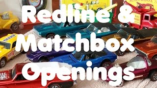 Hot Wheels and Matchbox Box Opening of What's New - Video No.136 - August 3rd, 2016