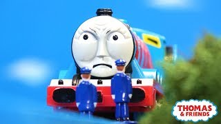 Gordon Struggles Up the Hill | Edward Helps Out | Thomas and Friends Clip Remake