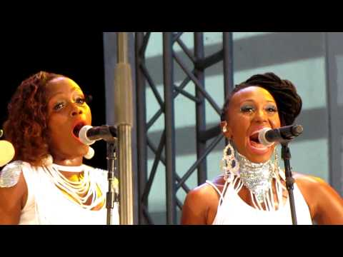 Nile Rodgers&Chic, Let's Dance, Damrosch Park, NYC 7-25-12