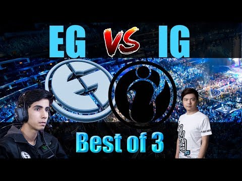 Dota 2 Live - EG(SumaiL) vs IG(BurNing) || Best of 3 || Dota 2 2017 || Dota 2 Tournament