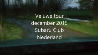Subaru Club Nederland Veluwe Tour -part -2-