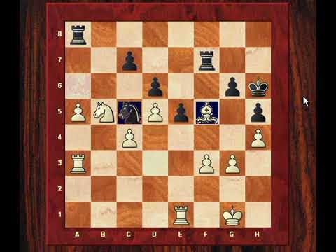 Correspondence Chess : Kings Indian Defence: Joop Van Oosterom vs Gert Jan Timmerman - 1999